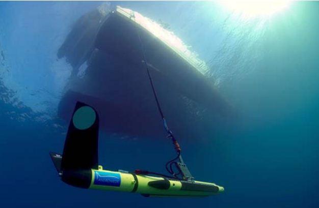 Actividades subacuáticas. Foto Armada Española.