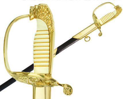 Espadas y sables de oficial de la Armada
